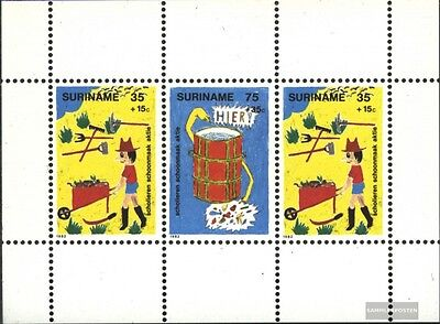 Suriname Block35 (complete issue) unmounted mint / never hinged 1982 Youth