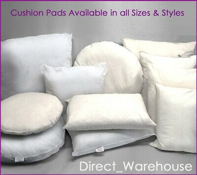 Cushion Pads Inner Insert Filler Pad Scatter Duck Feather Hollowfibre Microfibre