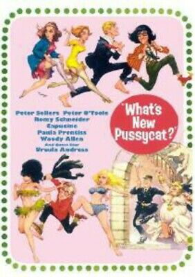What's New Pussy Cat (2014, REGION 1 DVD New)