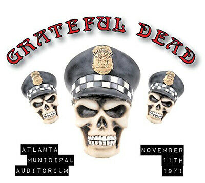 The Grateful Dead : Atlanta Municipal Auditorium November 11th 1971 CD 2 discs