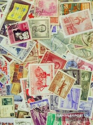 Chile 200 different stamps