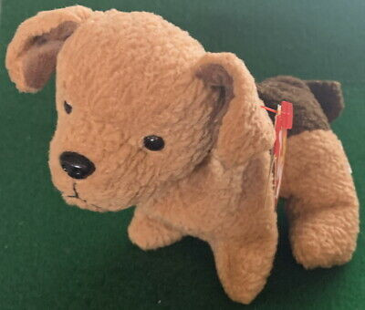 TY Beanie Baby TUFFY the DOG Mint Tag Retired MWMT Retired Babies Bean Bag PLUSH