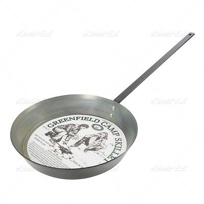 "New ""little"" Big Daddy Fish Fry Skillet 14"" Diameter Outside Cooking Camping Pan"
