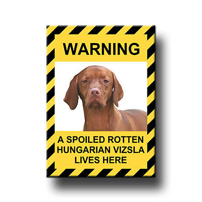 HUNGARIAN VIZSLA Spoiled Rotten FRIDGE MAGNET New DOG