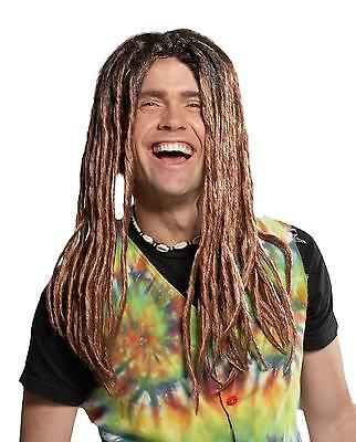Blonde & Brown Dreadlock Rasta Dreads Wig Costume Accessory Mr179046