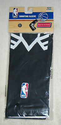 NBA : Black and White Adult Shooting Sleeve - New in Package