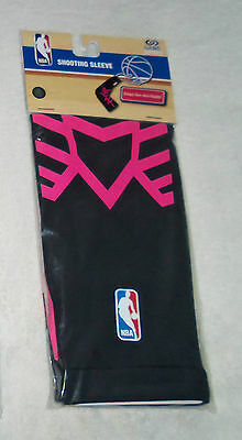 NBA : Black and Hot Pink Adult Shooting Sleeve - New in Package