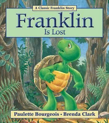 Franklin Is Lost by Paulette Bourgeois (English) Paperback Book Free Shipping!
