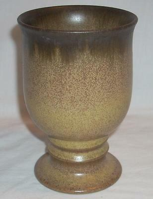Vintage Denby Langley Stoneware Romany Brown 10 oz Drinking Goblet Cup
