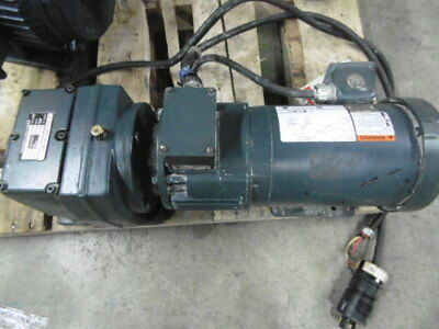 U.S. Electrical Motor 1.5HP 1740RPM 575V 145TC TE 3Ph Gear Reducer 14:1 ! WOW !