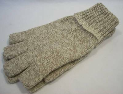 Danielson Ragwool Fingerless Gloves in Choice of Size Lg or Med Hunting Fishing