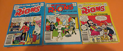 1988 Rion Cest Lheure Archie Comic French Digests Lot Of 3 #437-440-443
