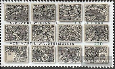 FRD (FR.Germany) 2598 (complete issue) used 2007 World Map