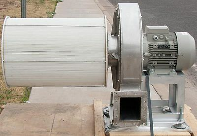 Stainless Steel Centrifugal Blower and Filter Laboratory/Cleanroom Assembly