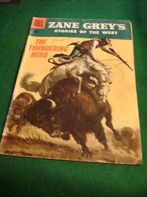1956 Zane Grey's Stories Of The West #31 Bufalo The Thundering Herd Western