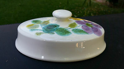 Franciscan Floral (USA, Rim Shape) 1/4 Lb. Covered Butter Top / Cover 1970's