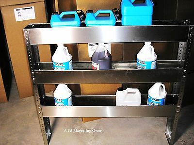 "Carpet Cleaning 48"" Truckmount S/S Van Shelve"