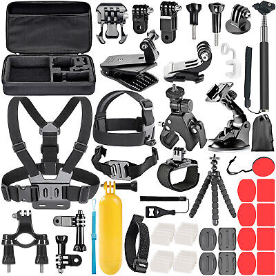 Neewer 58-In-1 Essential Outdoor Sport Accessory Kit for GoPro Hero 4 5 Session