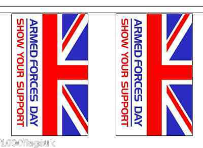9m long with 30 Flags British Army REME Flag Bunting