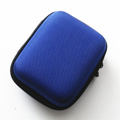 Blue Hard Case Carry Cover Bag Pouch For Nintendo Gameboy Advance SP GBA SP