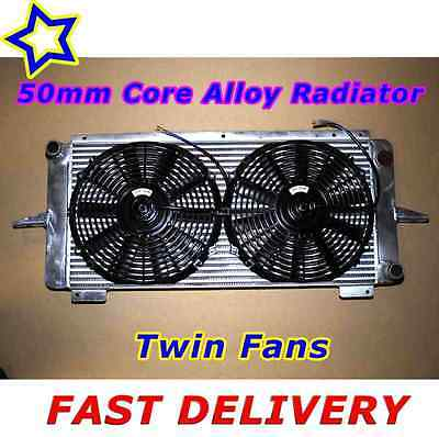Ford RS500 Cosworth 2WD Twin Fan Alloy Radiator + High Flow Alloy Intercooler