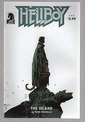 Hellboy The Island #1&2 Near Mint Complete Set 2005