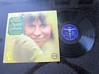 """Astrud Gilberto """"look To The Rainbow"""" Verve Lp V Rare Colombia Stereo Pressing"""