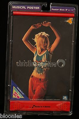 "Christina Aguilera 8"" x 11"" Musical Poster 2000 BRAND NEW"