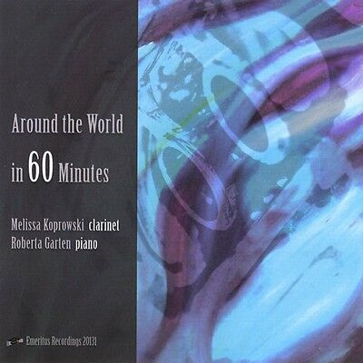 Melissa Koprowski - Around the World in 60 Minutes [New CD] Duplicated CD