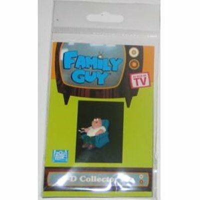 The Family Guy TV Show Peter Figure 3-D Ruberized Pin, NEW UNUSED