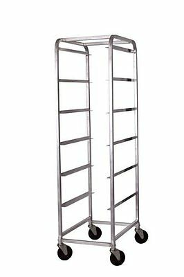 WinCo Abbc-6 Aluminum Bus Box Cart With 6 Tiers