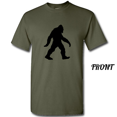 3ec9a3eff MEN'S COOL BIGFOOT T-Shirt Forest Sasquatch Tee Grunge Hide Seek ...