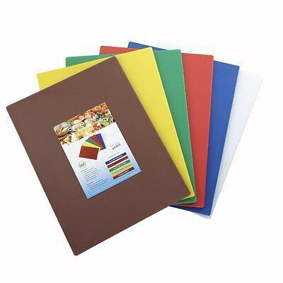 Cutting Boards, 15 Inch x 20 Inch x 1/2 Inch, 6 Colors/set CBST-1520