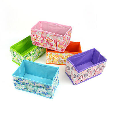 Foldable Fabric Storage Shelving Box Multifunction Home Gadget Storage Container