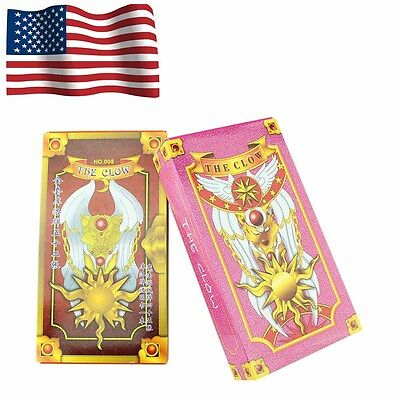 New Two Sets 52+54 Hope Cosplay Card Captor Sakura Clow Cards Gift Game