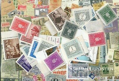 Croatia 25 different stamps mint never hinged mnh