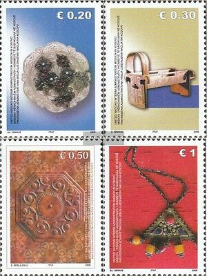 kosovo (UN-Administration) 31-34 mint never hinged mnh 2005 Crafts