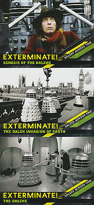 Topps 2016 Doctor Who Timeless - Daleks Across Time Chase Trading Card Set