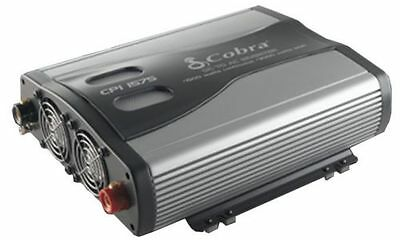 Cobra CPI1575 1500 - 3000 Watts DC to AC Car Power Inverter w/ 3 Outlets & USB