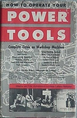 1950 Power Tools Book - Vintage Tools + How-To Photos