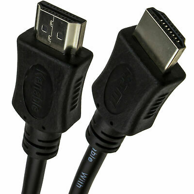 3m HDMI High Speed 3DTV 1.4 Cable Sky/PS3/TV Screened Lead [007918]