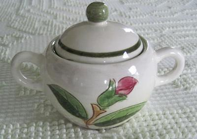 Late 190's Stangl Pottery Prelude Covered Sugar Bowl