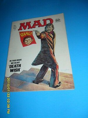 1975 Mad Magazine # 174 Death Wish Charles Bronson
