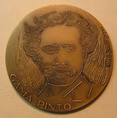 Medicine/Doctor Gama Pinto Institute of Ophthalmology Created 1892/Bronze Medal