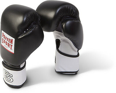 Boxing 14-20 Oz Sparring Paffen Sport Pro Heavy Hitter Boxing Gloves Black