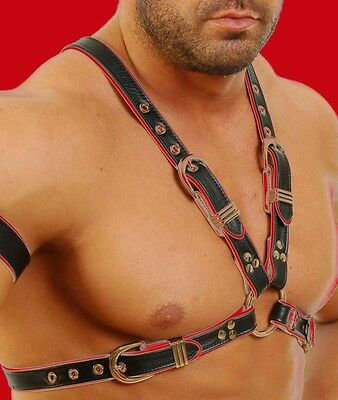 6734  Leder Harness,Original Lederharness,Chest Harness,Harnais Cuir