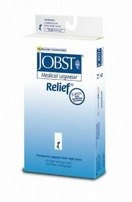 Jobst Relief Knee High 15-20 Compression mmhg Closed Toe Stockings supports