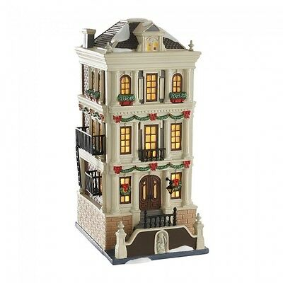 Department 56 Christmas In The City Village New 2016 HOLIDAY BROWNSTONE 4050913