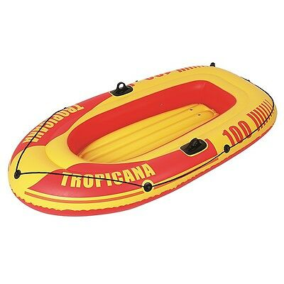 Jilong Tropicana Boat 100 Set - inflatable rowing boat, including paddle and pum