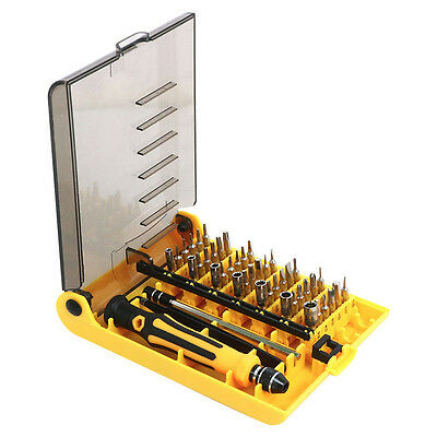 45 in1 Electronic Precision Screw Driver Tool Set Cell Phone Repair Kit